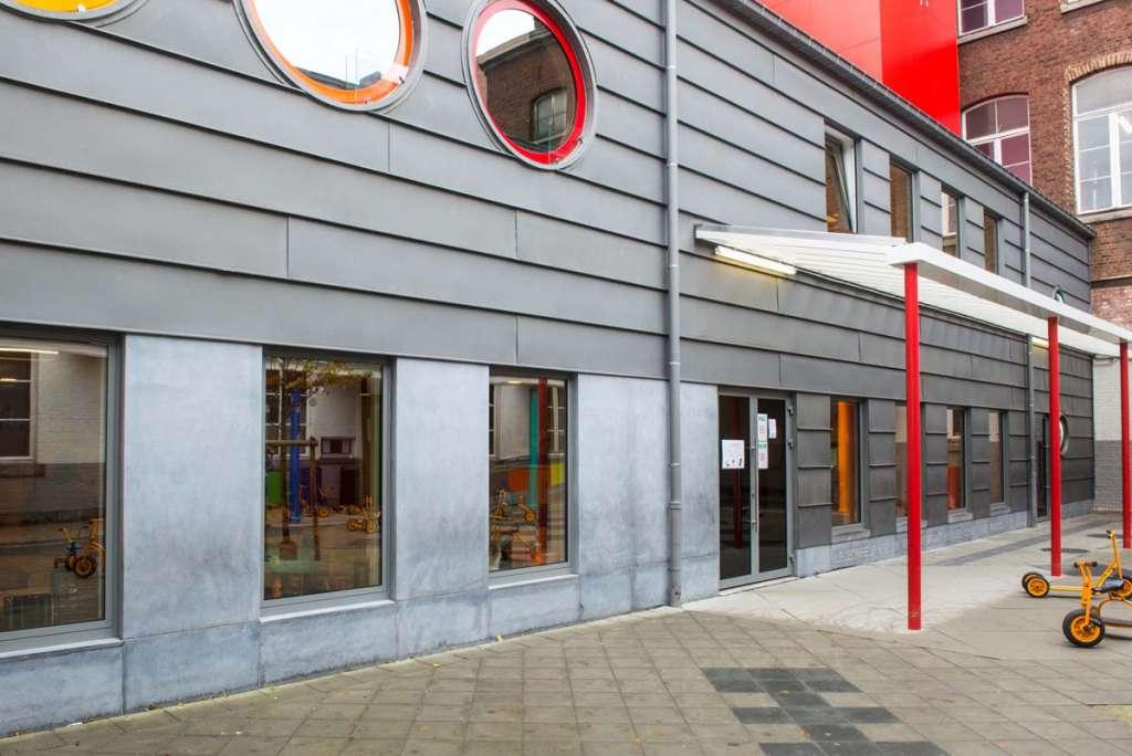 Rénovation de l'école du jardin Botanique (Liège)