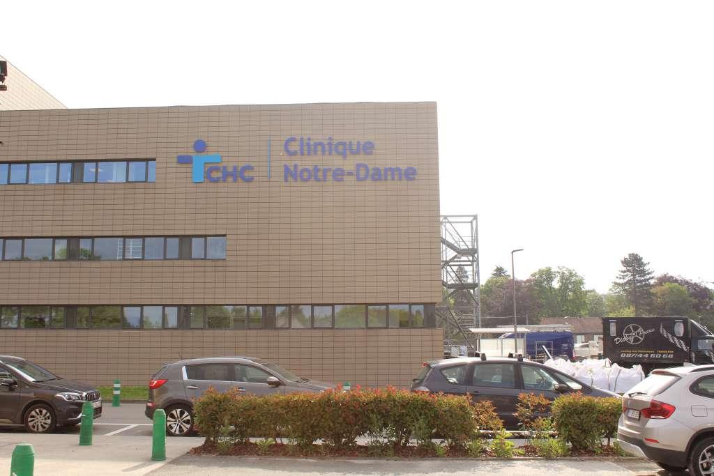 Construction d'une nouvelle aile - CHC Notre-Dame (Hermalle)